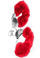 Fetish Fantasy Series Furry Cuffs Red