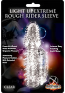 Wet Dreams Extreme Light Up Rough Rider Silicone Textured...
